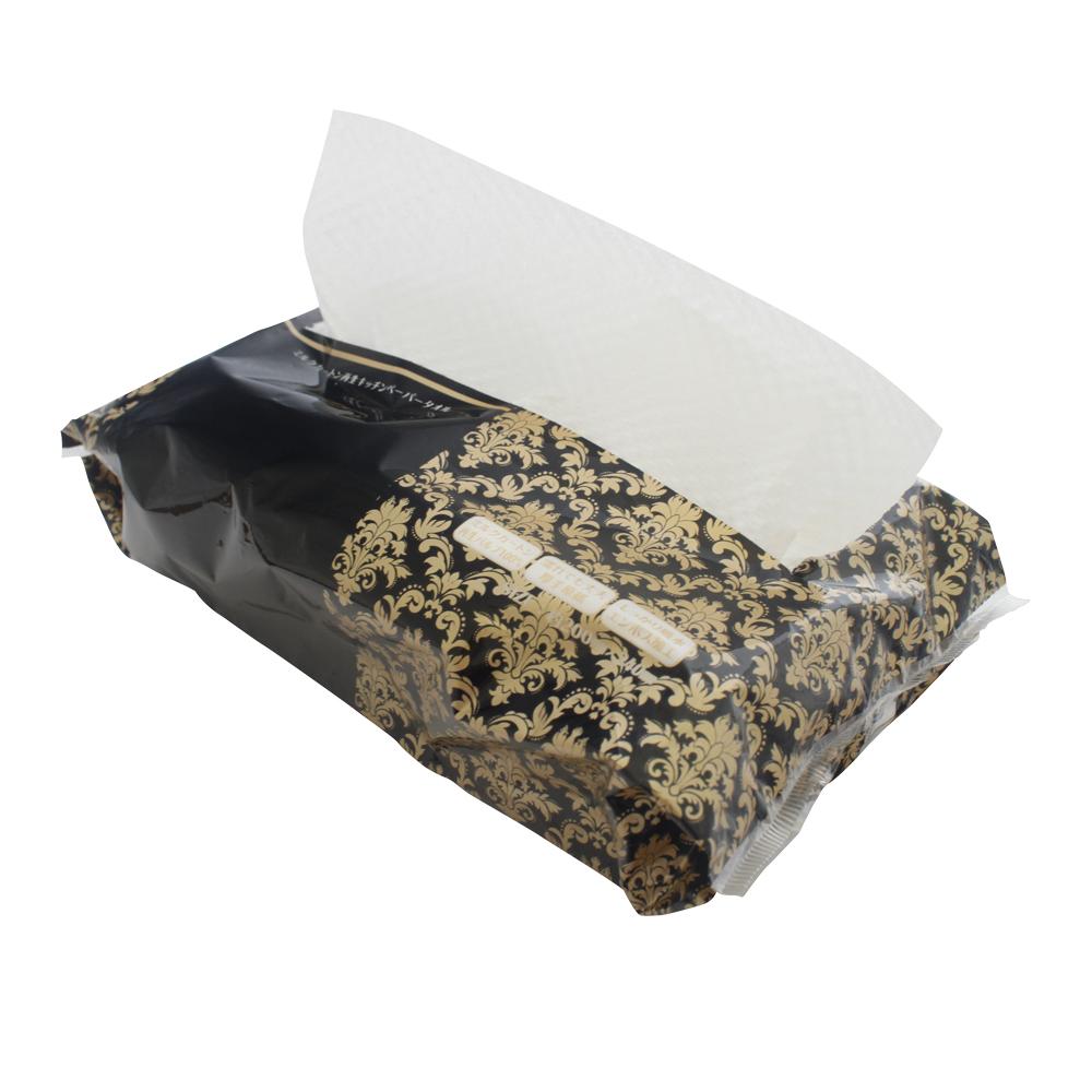 ミルクカートン再生キッチンペーパータオル60W 使用イメージ